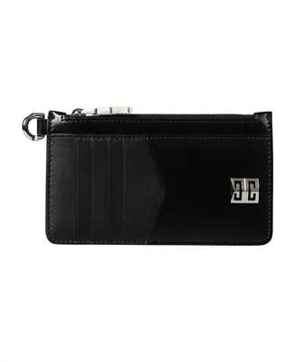 Givenchy BB60GXB00D 4G ZIPPED BOX LEATHER Kartenetui
