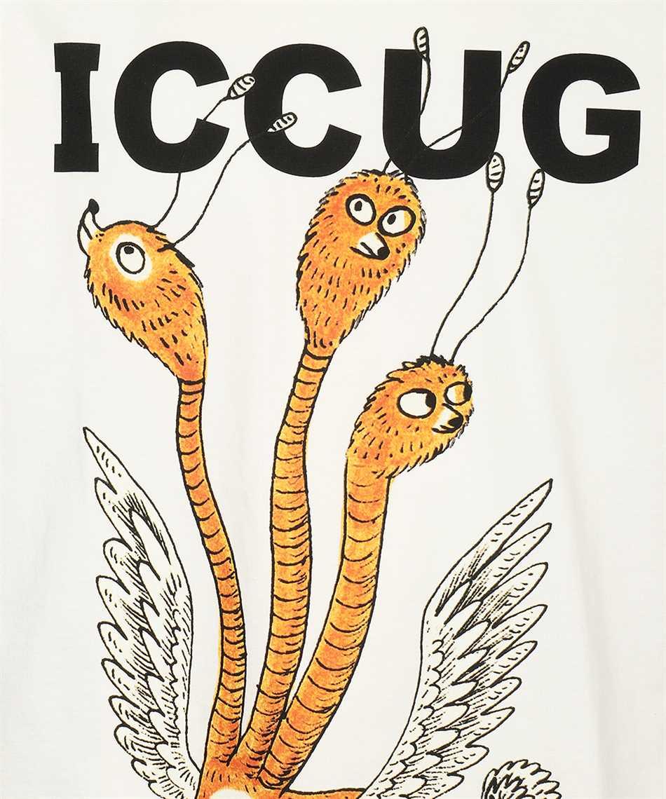 Gucci 548334 XJDJV FREYA HARTAS ICCUG PRINT T-shirt 3