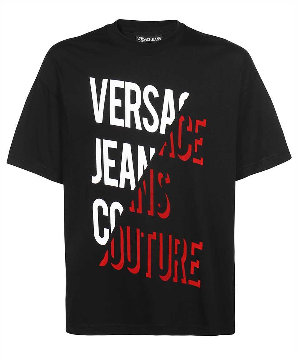 Versace Jeans Couture 71GAHF03 CJ00F FLOCK T-shirt 1