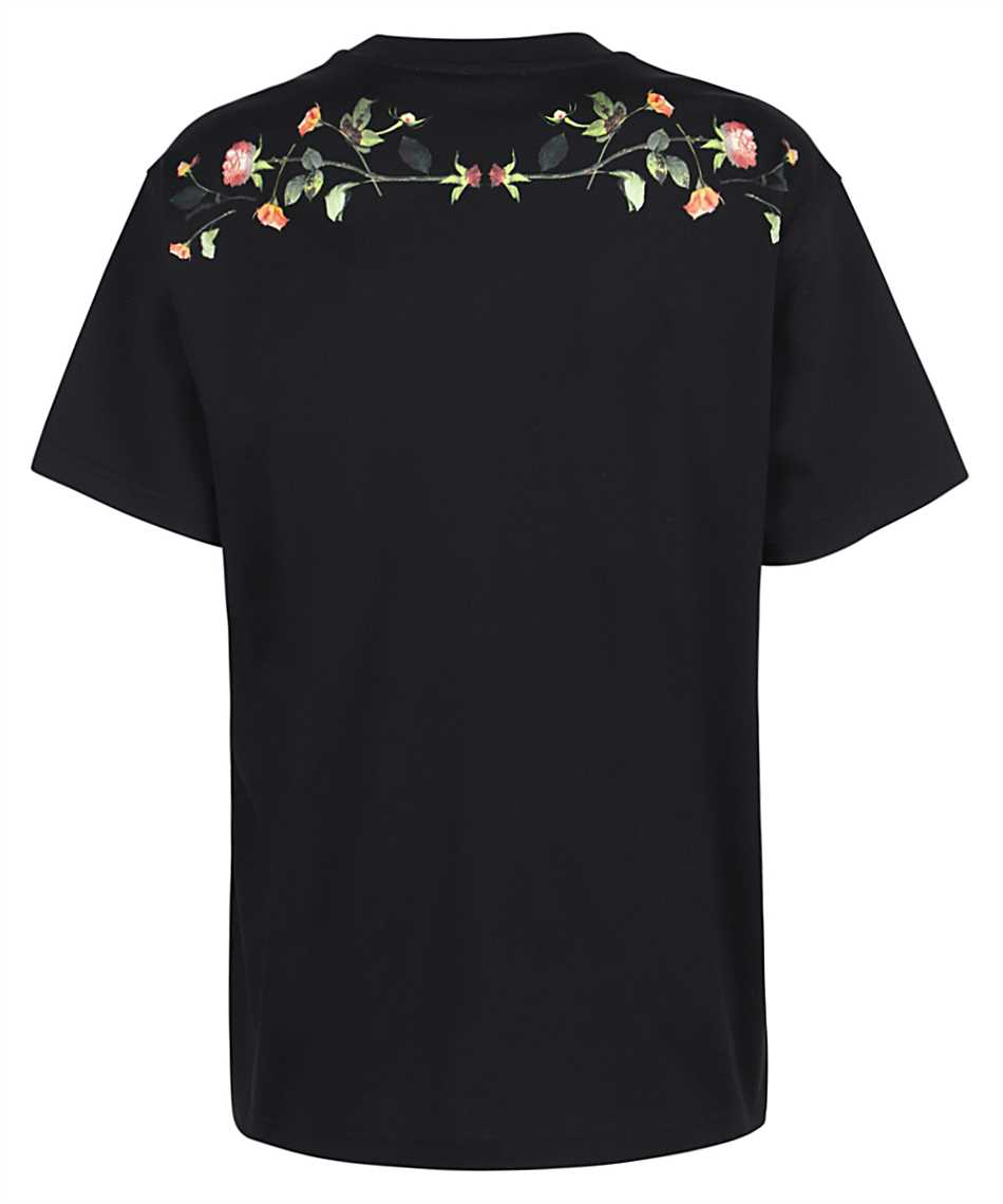 Burberry 8037295 ROSE PRINT COTTON OVERSIZED T-shirt 2