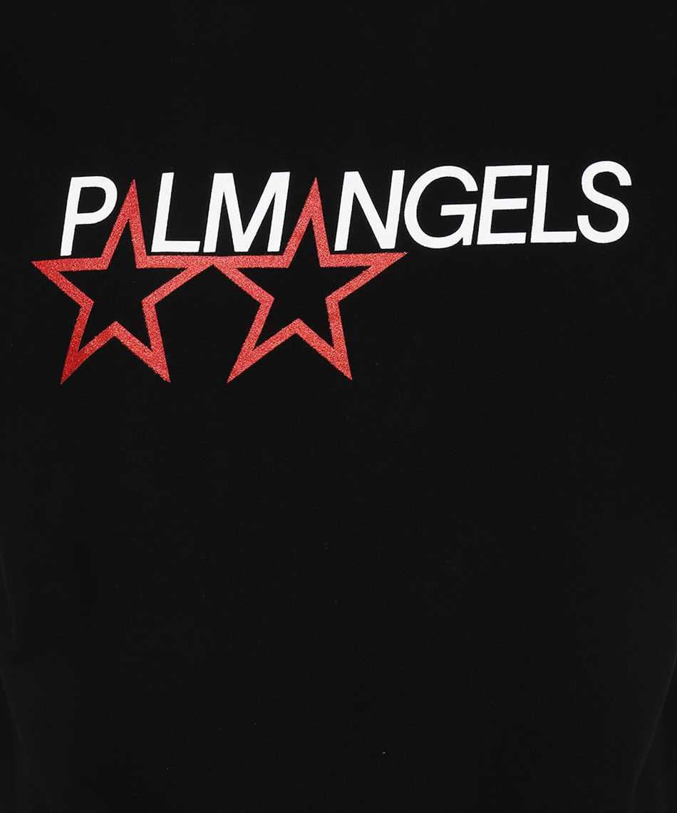 Palm Angels PMAA001F21JER014 RACING STAR T-Shirt 3