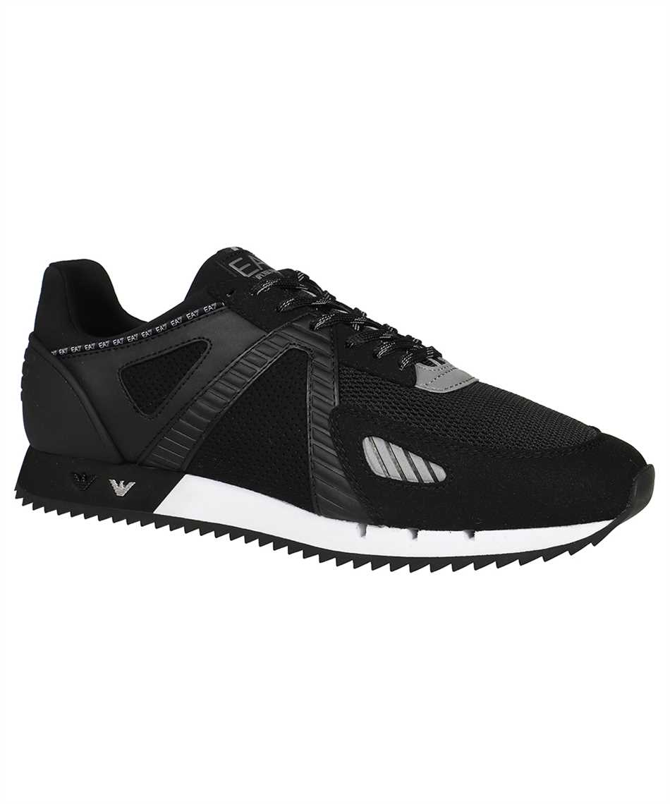 EA7 X8X076 XK187 UNISEX WOVEN Sneakers 2