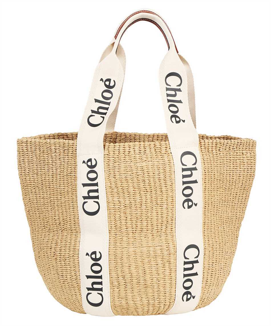 Chloé CHC21US380E65 LARGE WOODY Borsa 1