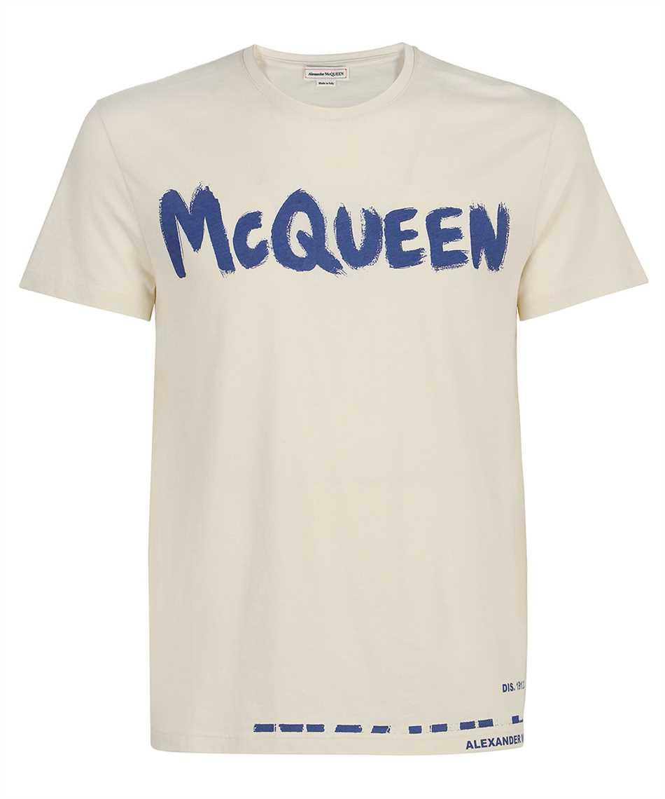 Alexander McQueen 622104 QRZ57 GRAFFITI T-shirt 1