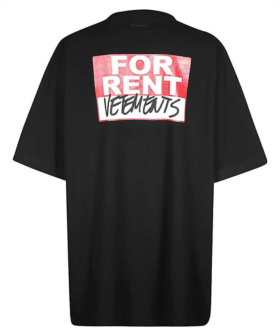 Vetements TR372 FOR RENT T-shirt 2
