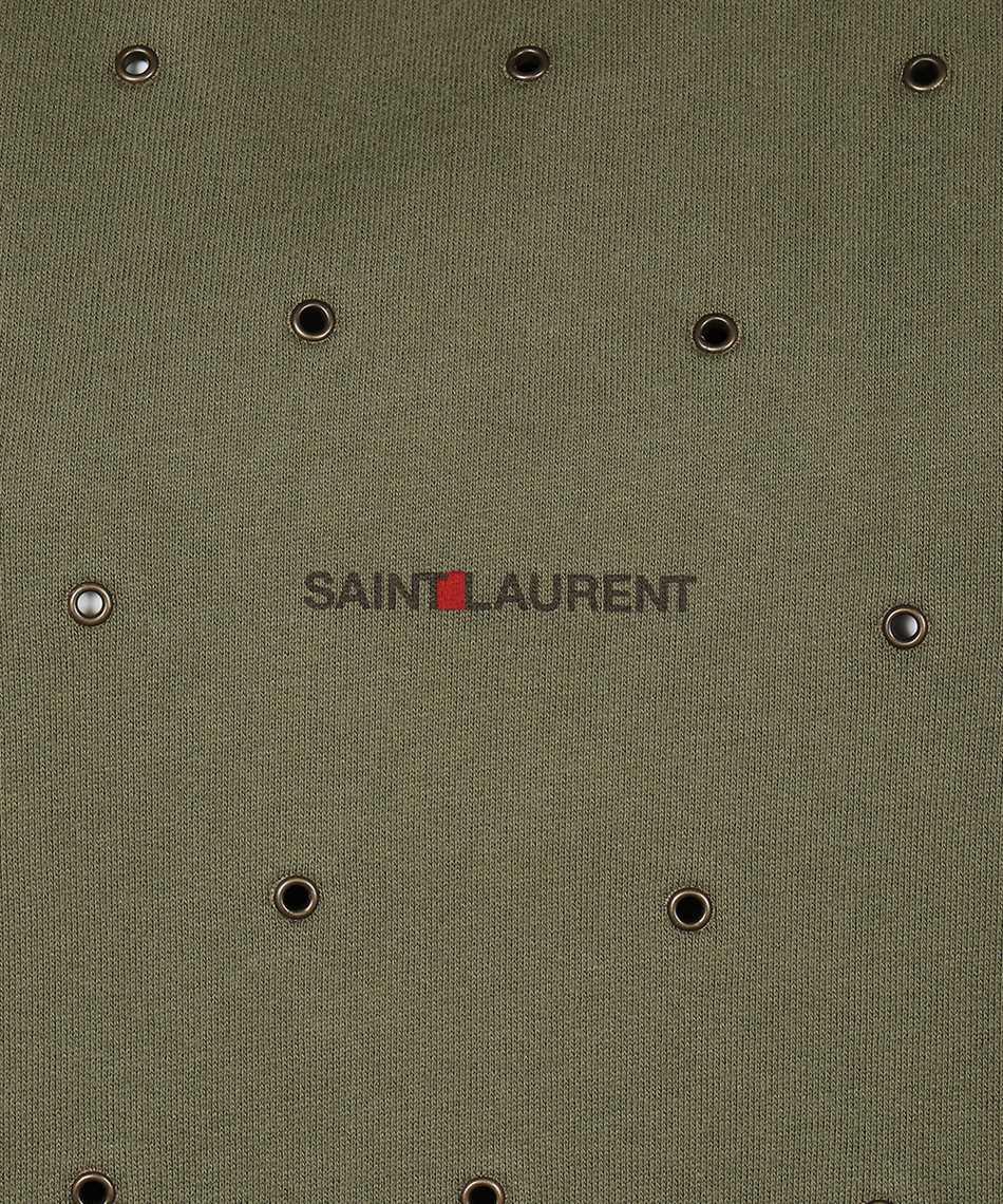 Saint Laurent 632418 YBQZ2 EYELETS Felpa 3