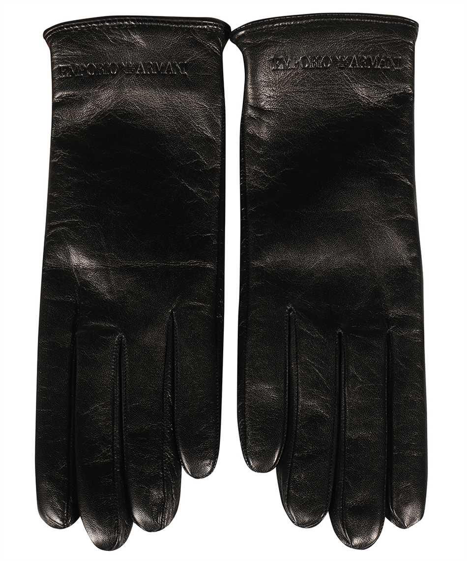 Emporio Armani 634265 1A201 LEATHER Gloves 1