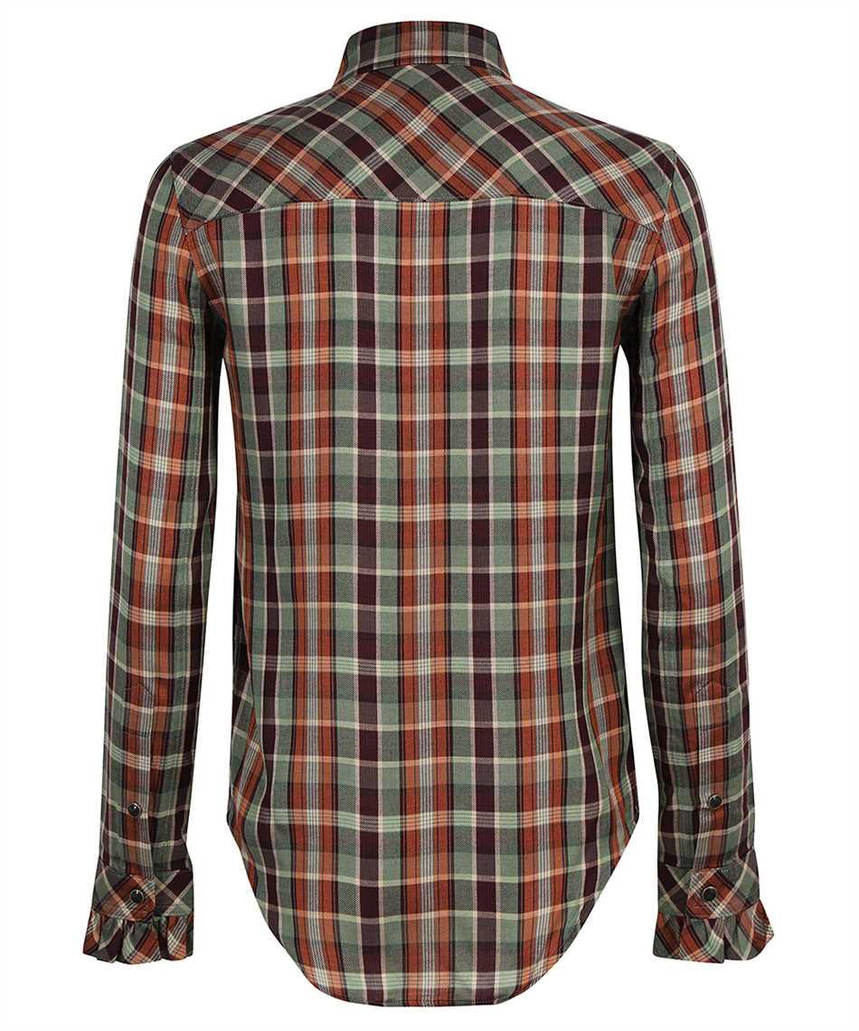 Saint Laurent 663877 Y22DA FITTED WESTERN Shirt 2