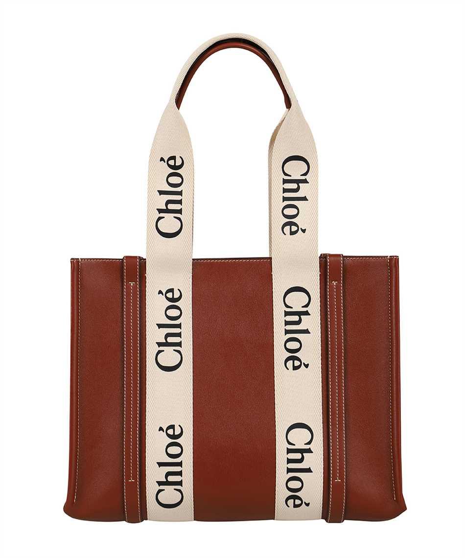 Chloé CHC21AS383F10 WOODY TOTE Borsa 1
