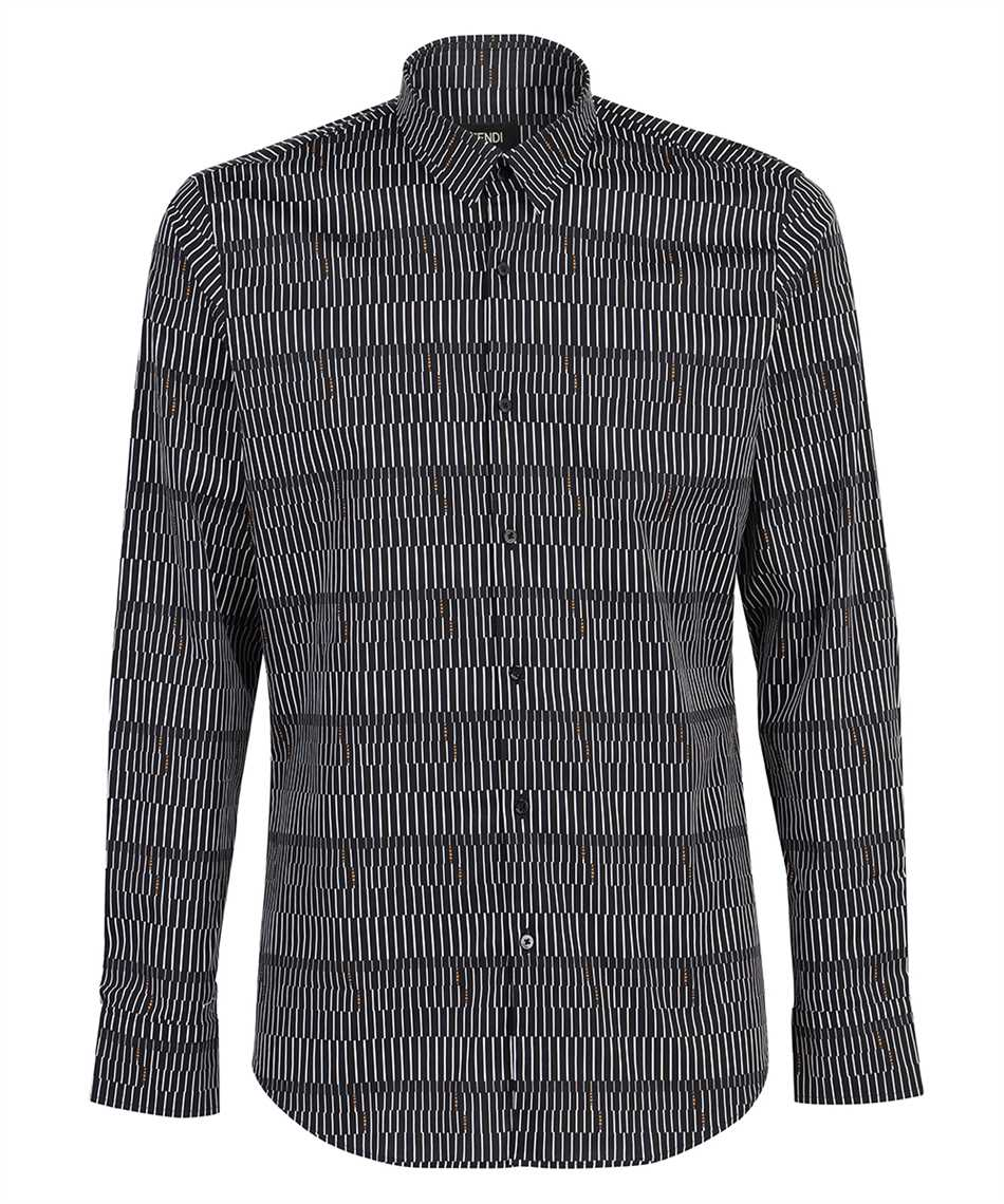 Fendi FS0799 A4FX OPTICAL COTTON POPLIN Camicia 1