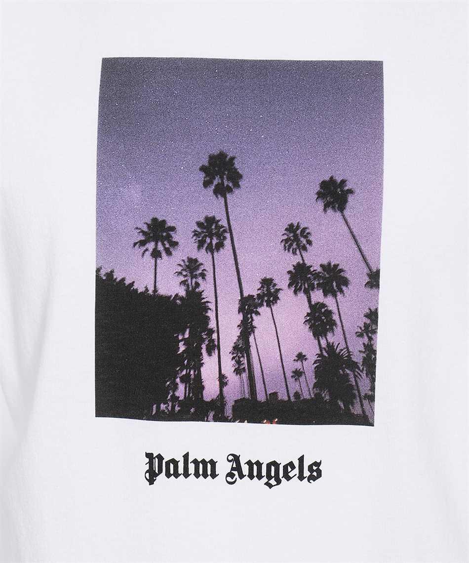 Palm Angels PMAA001F21JER016 STARS AND PALMS T-shirt 3