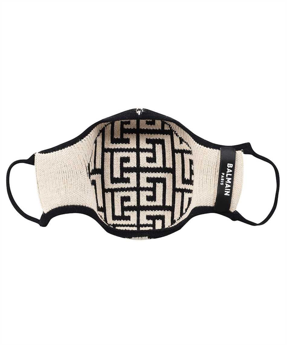 Balmain WH1XD001K265 KNITTED MONOGRAM Maske 2