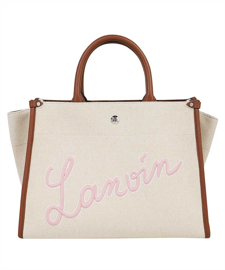Lanvin LW BGTC01 CABR A21 EMBROIDERED CANVAS IN&OUT Tasche 1