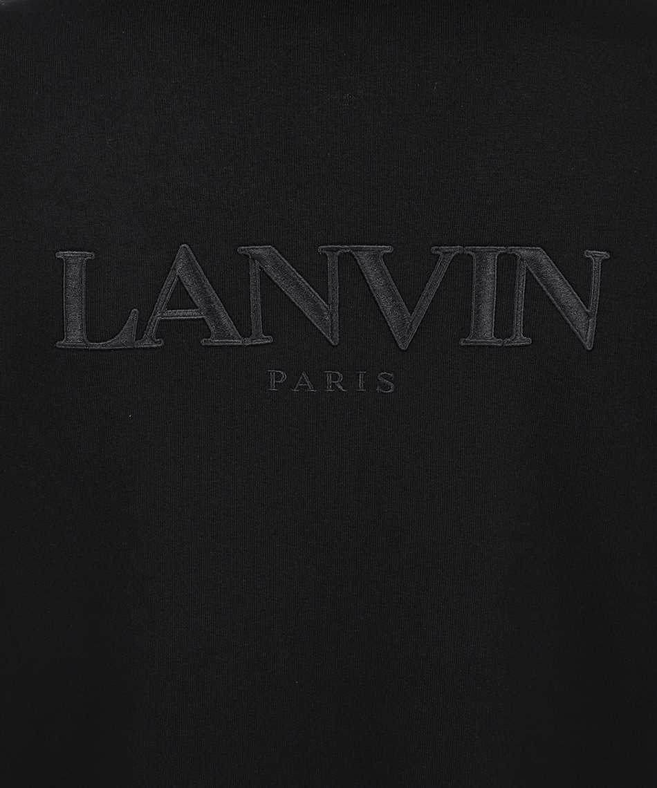 Lanvin RM HO0006 J008 A21 EMBROIDERED ZIPPED Hoodie 3