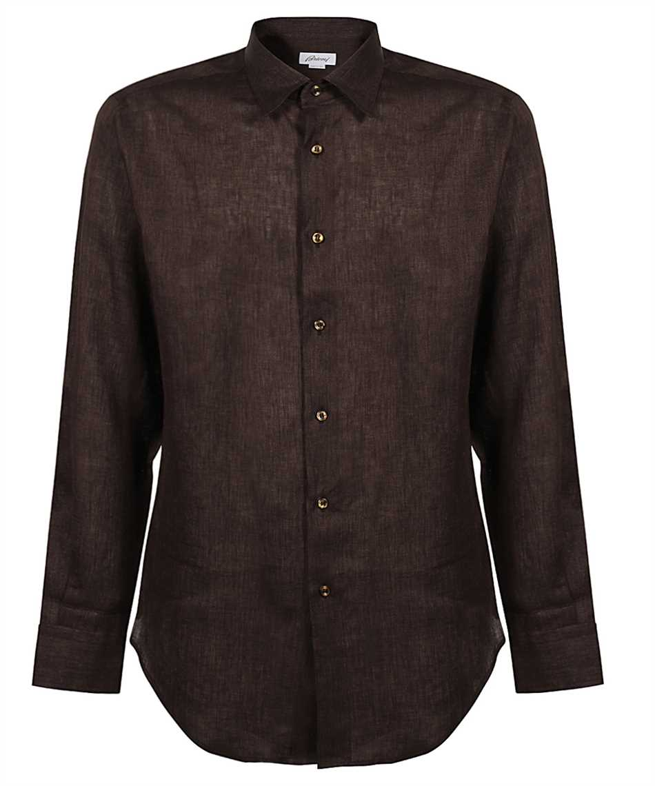 Brioni SCCA0L P9111 LONG SLEEVE FIT Camicia 1
