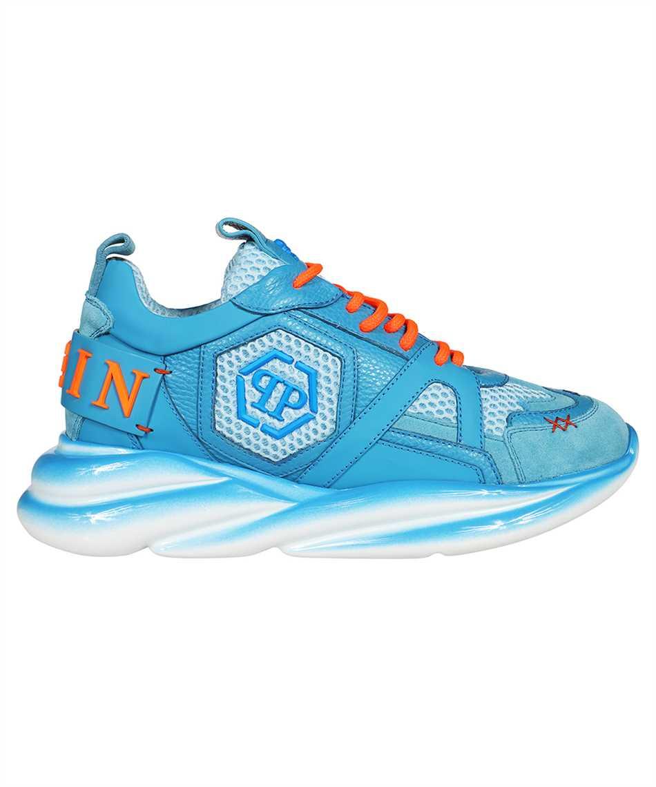 Philipp Plein AAAS MSC 3266 PLE010N RUNNER SKY MIX MATERIALS Sneakers 1