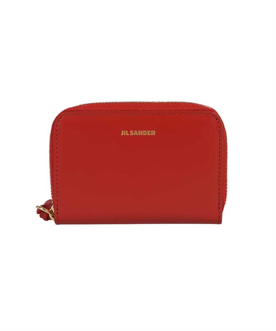 Jil Sander JSPT840053 WTS69158N SMALL ZIP AROUND Wallet 1