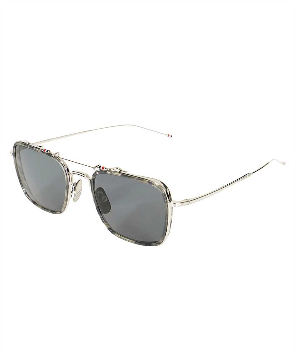 Thom Browne TBS816 53 03 AVIATOR Sunglasses 2