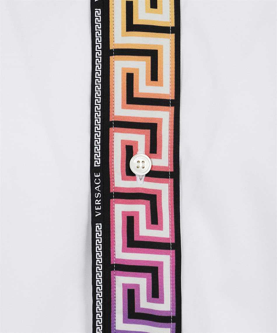 Versace 1000861 1A00623 GRECA ACCENT COTTON POPLIN Camicia 3