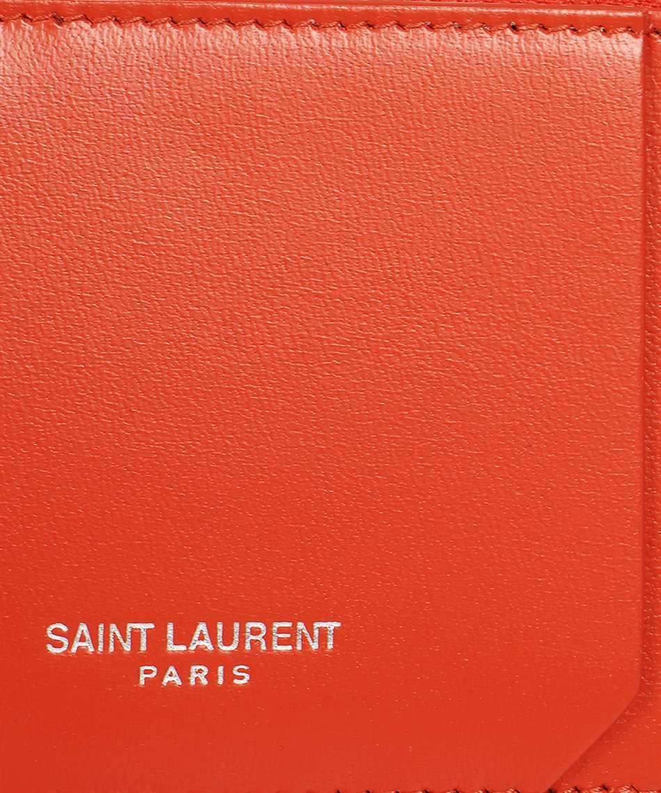 Saint Laurent 631992 1JB0E FRAGMENTS ZIPPED Kartenetui 3