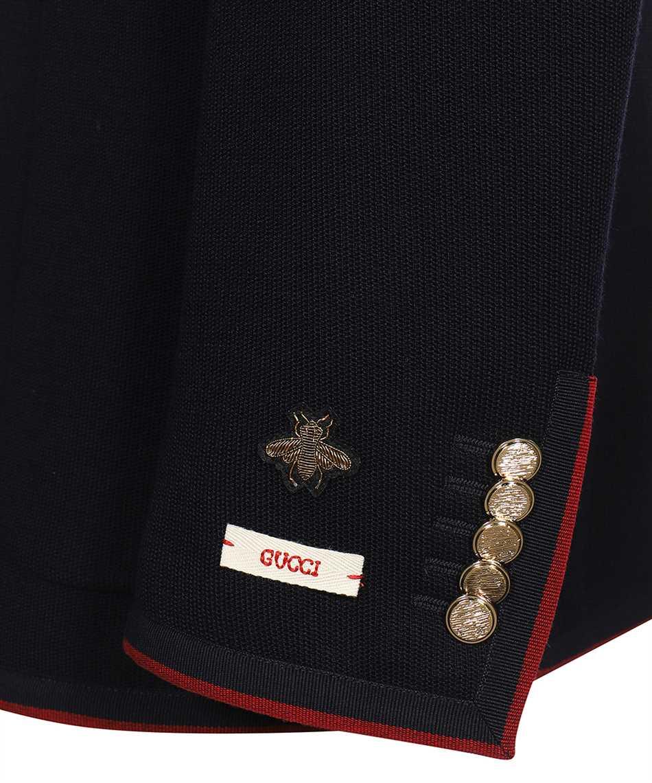 Gucci 645195 ZAC3R WOOL COTTON JERSEY Jacke 3