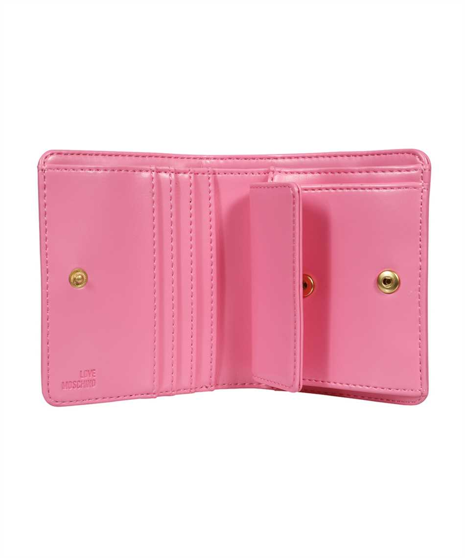 LOVE MOSCHINO JC5635PP0CKK LOGO Wallet 3