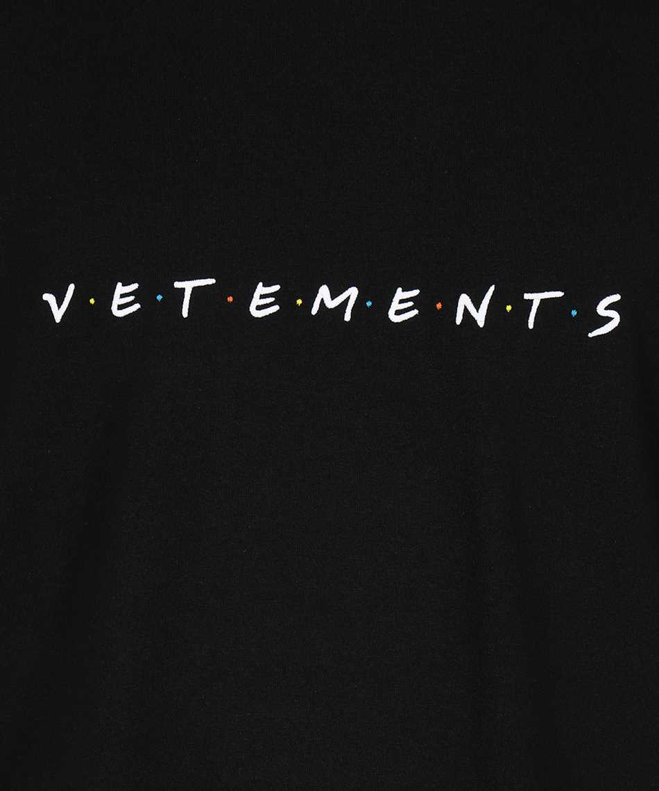 Vetements UE51TR340B FRIENDLY LOGO T-shirt 3