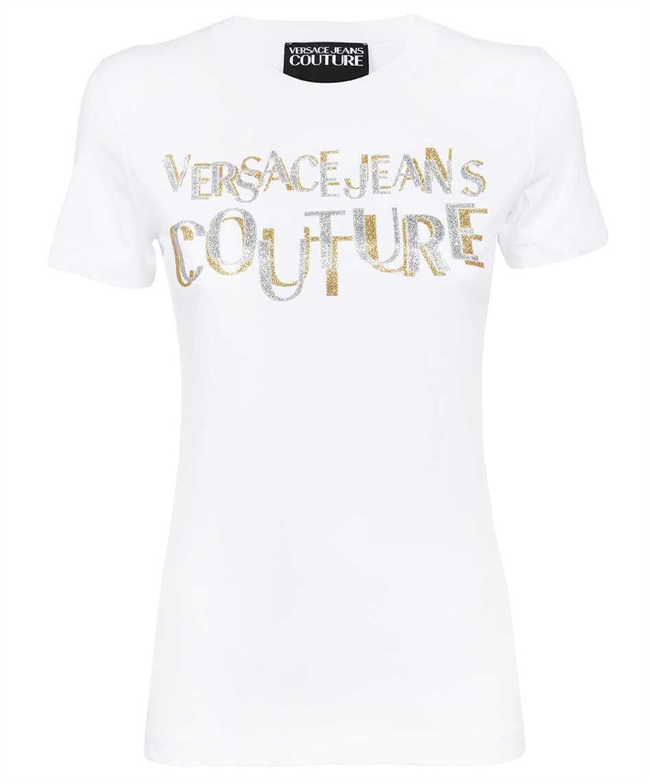 Versace Jeans Couture 71HAHT02 CJ00T LOGO GLITTER T-shirt 1