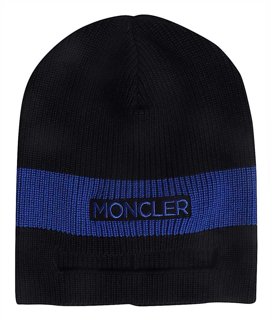 online store 3c290 cc7ab Moncler 99208.00 969BZ Mütze Schwarz