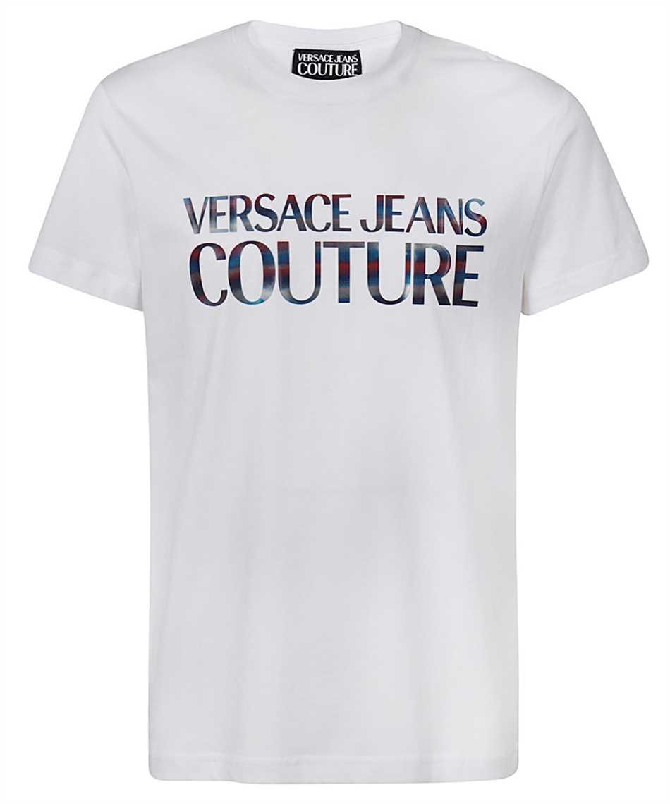 Versace Jeans Couture B3GWA7GB 30382 SLIM LOGO REFLECTIVE T-shirt 1