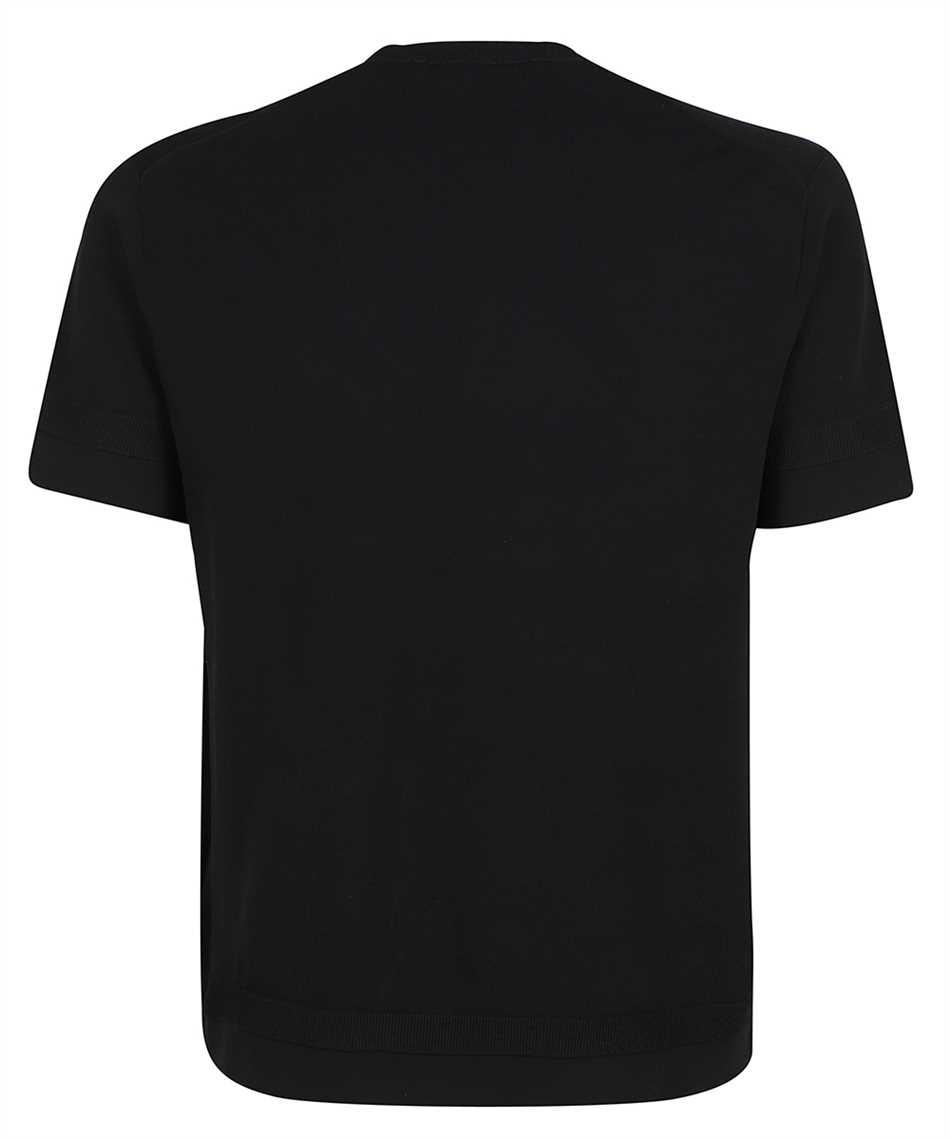 Neil Barrett BMA013E R601 TECNO KNIT T-shirt 2