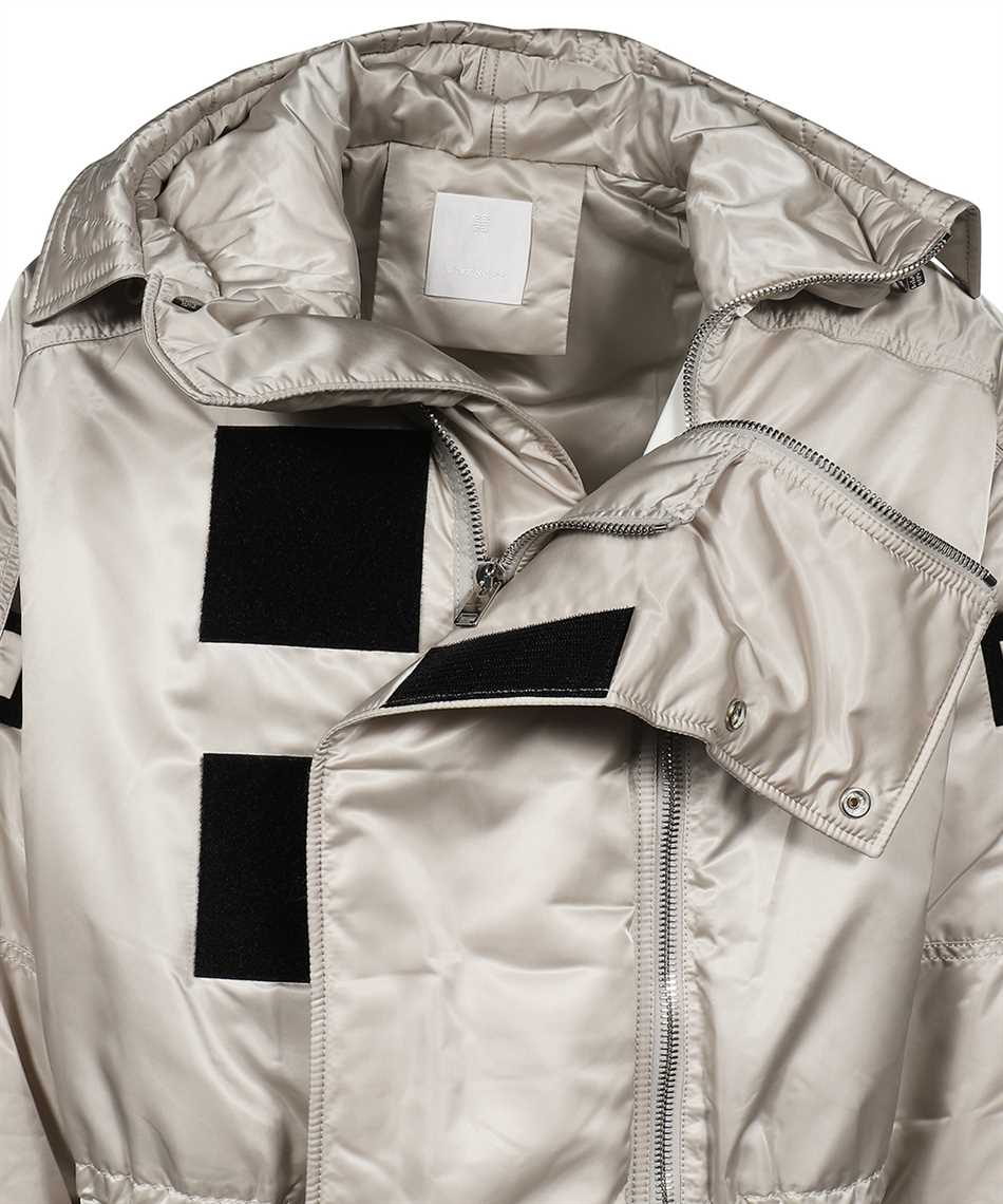Givenchy BM00QY13Q0 QUILTED SATIN NYLON Jacke 3