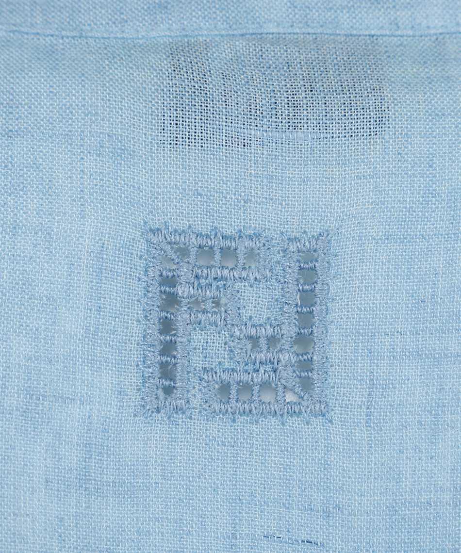 Fendi FS7383 AF7L LINEN MOUSSELINE Shirt 3