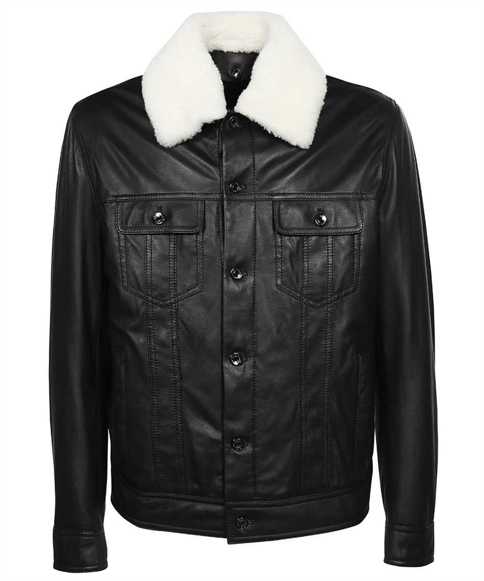 Dolce & Gabbana G9VN0L HULLZ LAMBSKIN AVIATOR Jacke 1