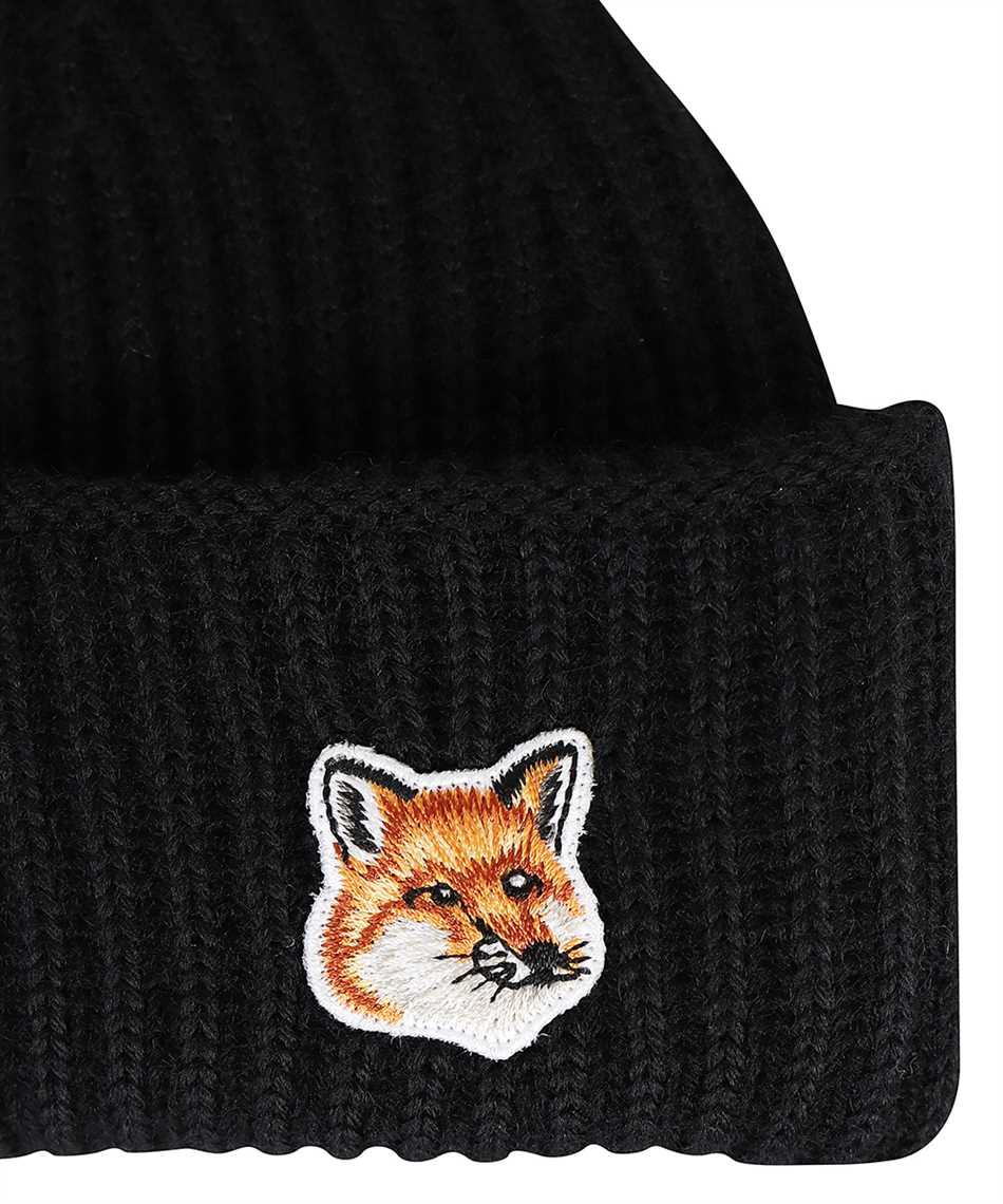 Maison Kitsune HU06149KT1022 FOX HEAD PATCH RIBBED Cappello 3