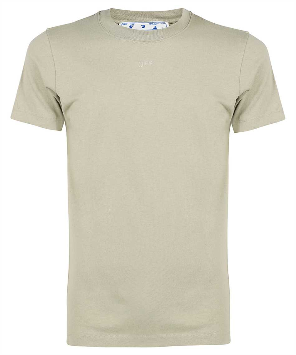Off-White OMAA027F21JER007 RUBBER ARROW S/S SLIM T-shirt 1