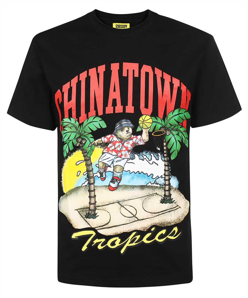 Chinatown Market 1990549 DUNKING BEAR BY THE WATER T-shirt 1