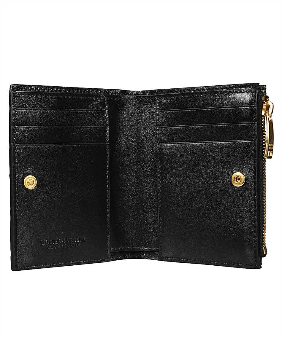 Bottega Veneta 608059 VCPP3 SMALL BI-FOLD ZIP Wallet 3