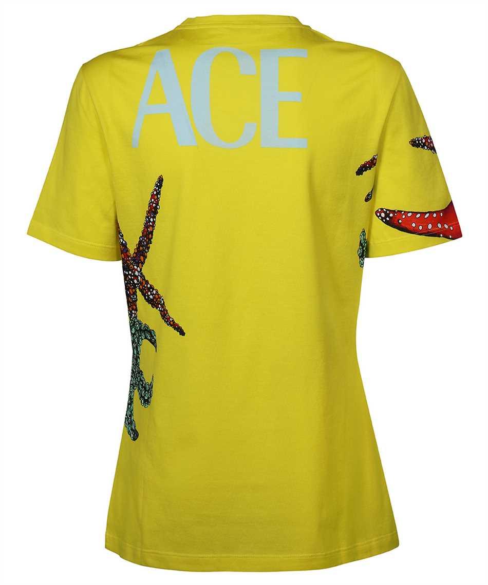 Versace A89357 1F01179 TRÉSOR DE LA MER PRINT T-shirt 2