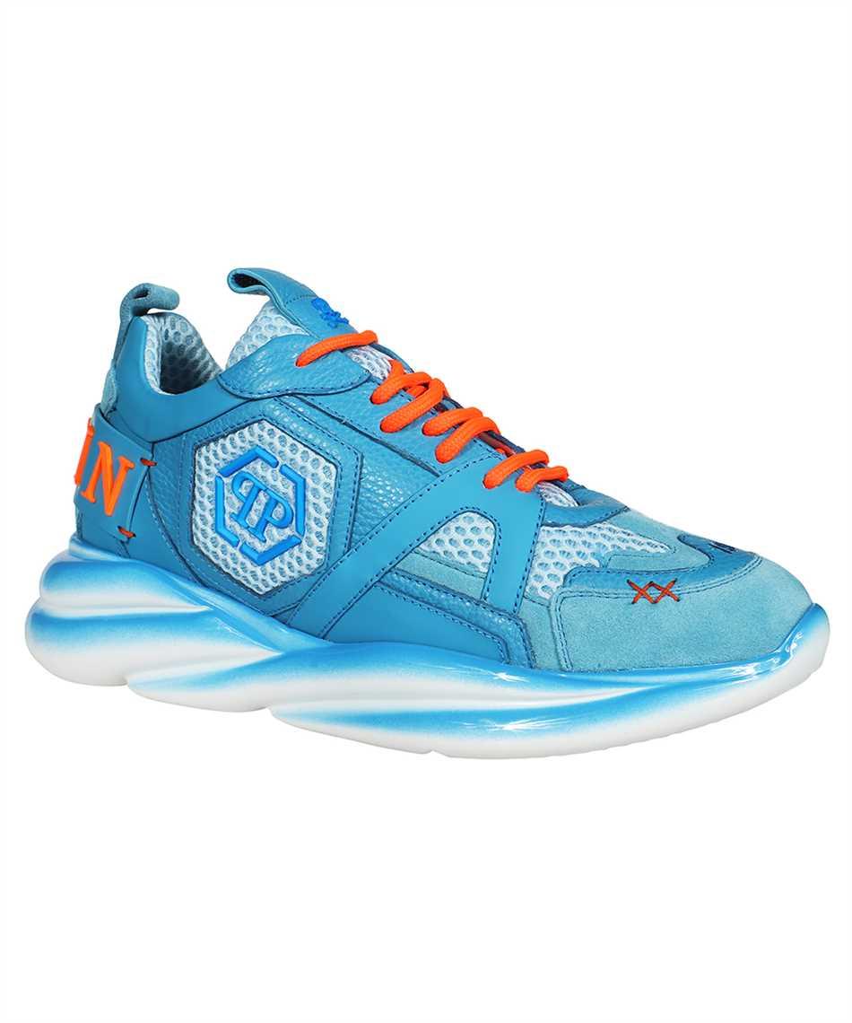 Philipp Plein AAAS MSC 3266 PLE010N RUNNER SKY MIX MATERIALS Sneakers 2