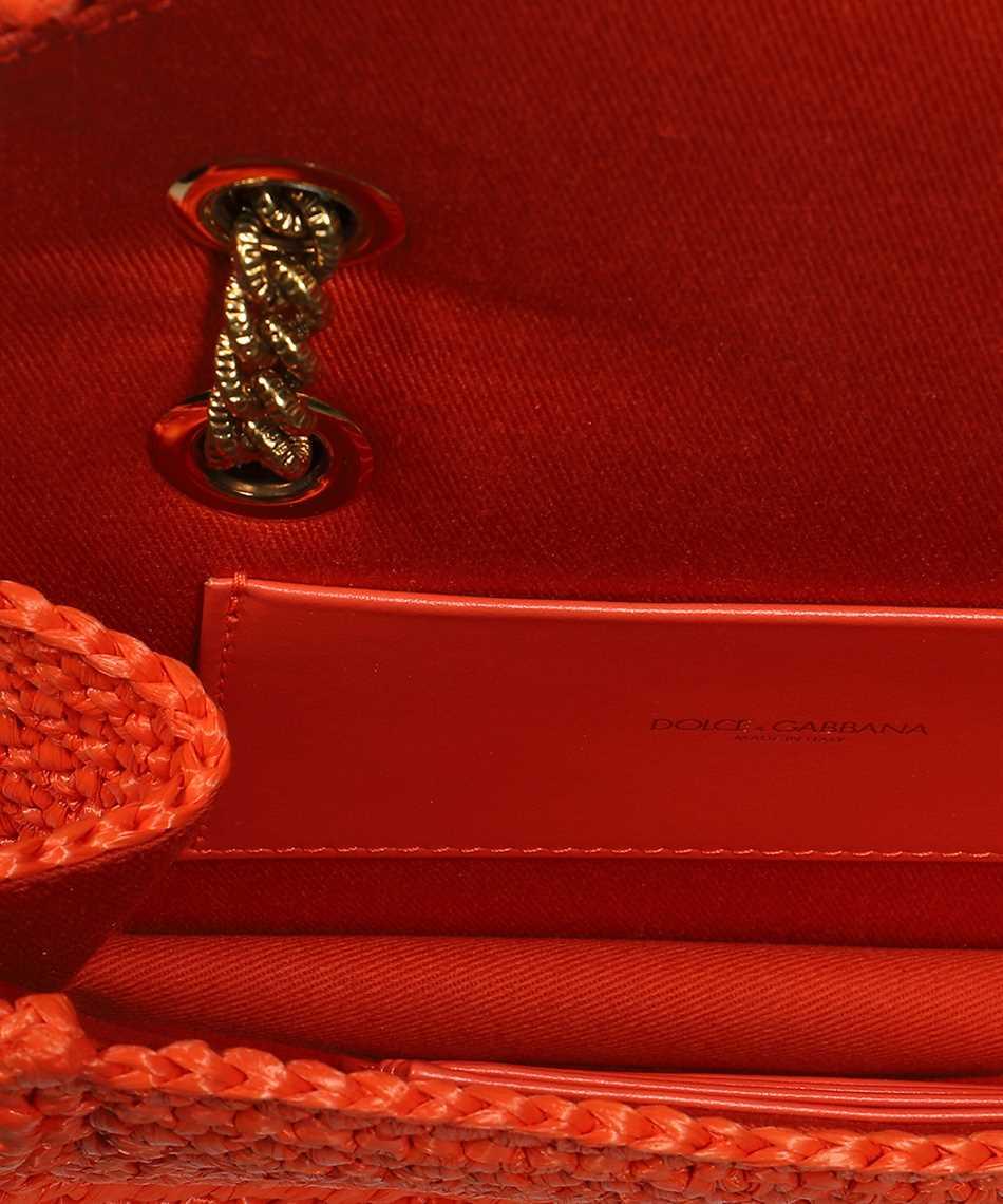 Dolce & Gabbana BB6641 AO434 MEDIUM CROCHET RAFFIA DEVOTION Borsa 3