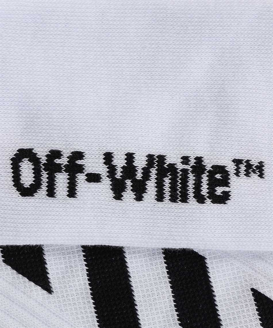 Off-White OMRA001R21KNI003 DIAG MID LENGTH Socks 2