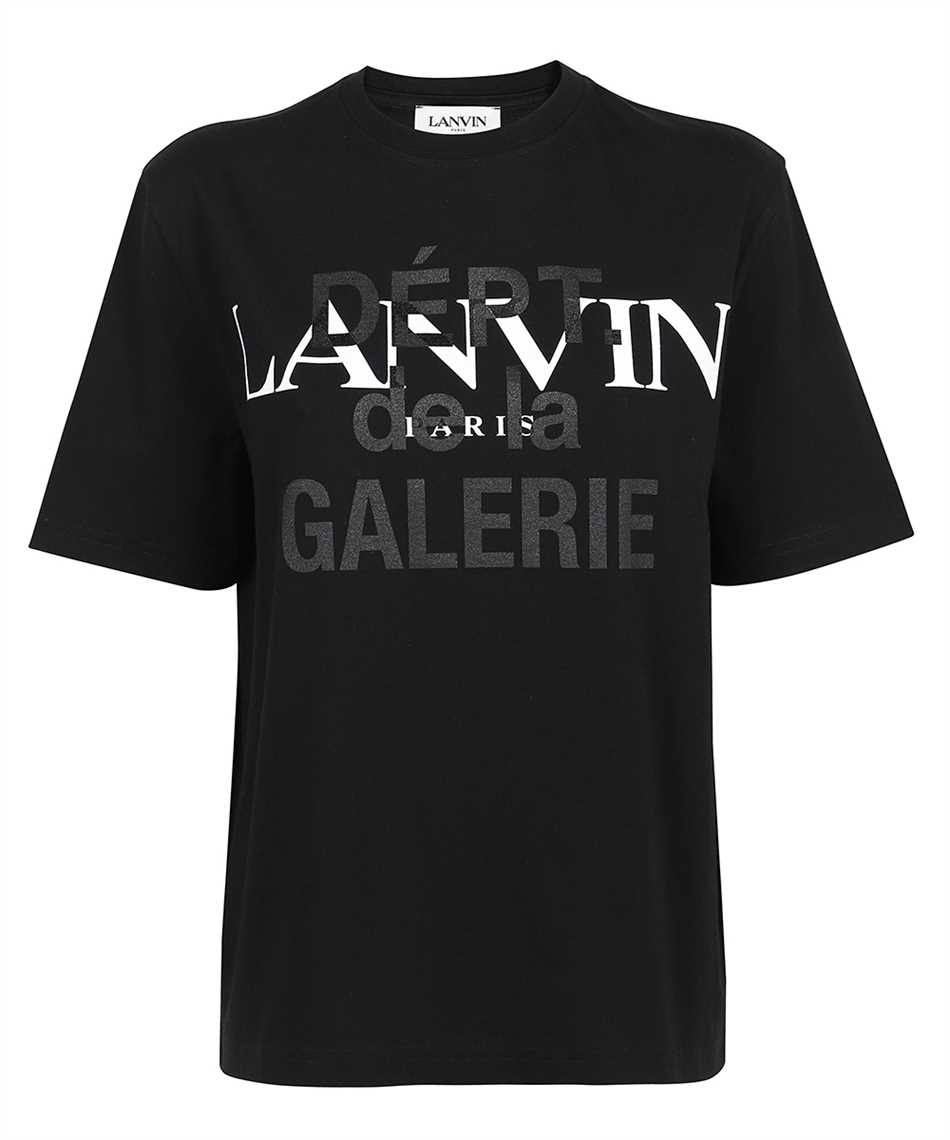 Lanvin RU TS0005 J090 E21 GALLERY DEPT. PRINTED T-shirt 1