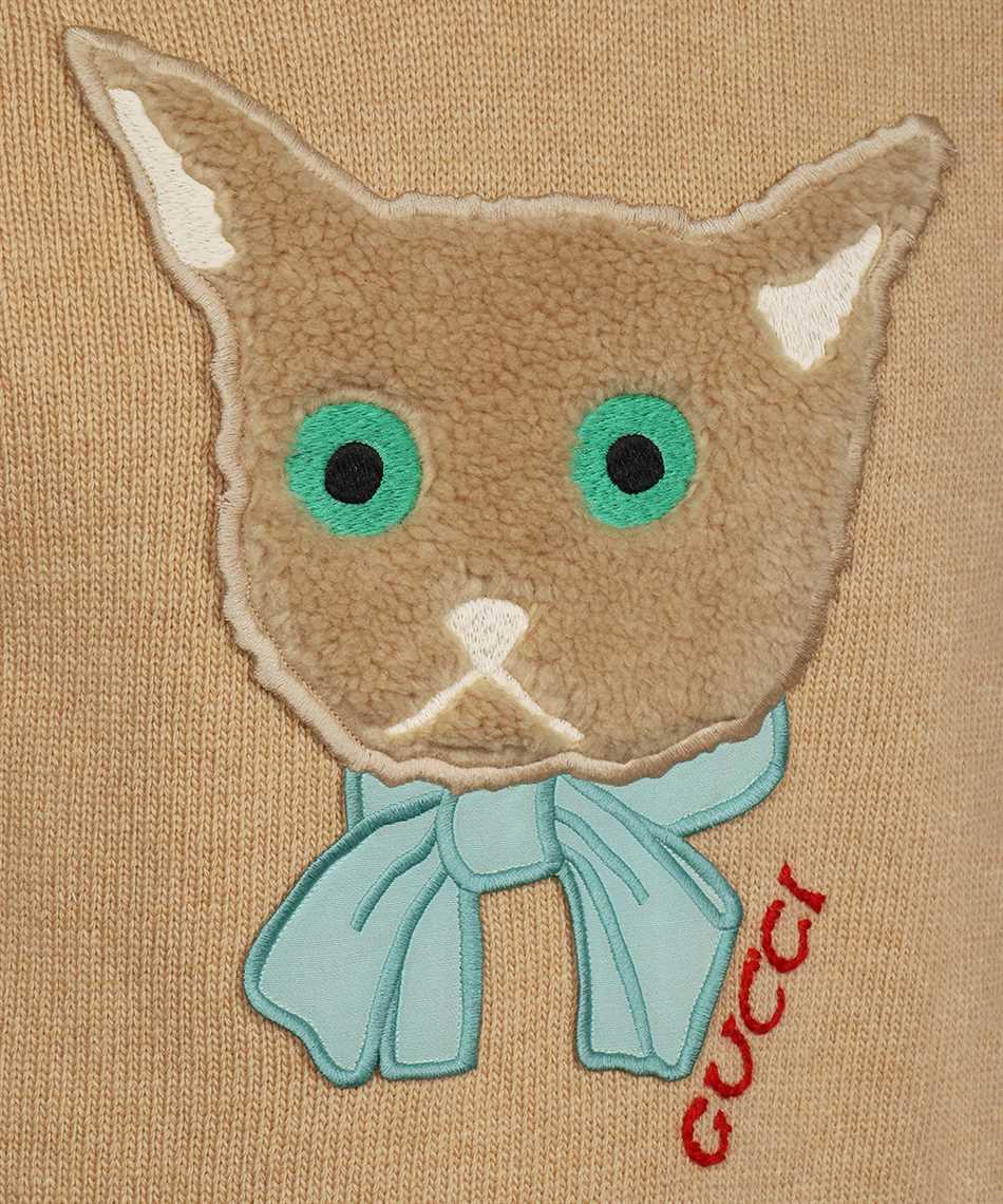 Gucci 662173 XKBYI CAT PATCH Maglia 3