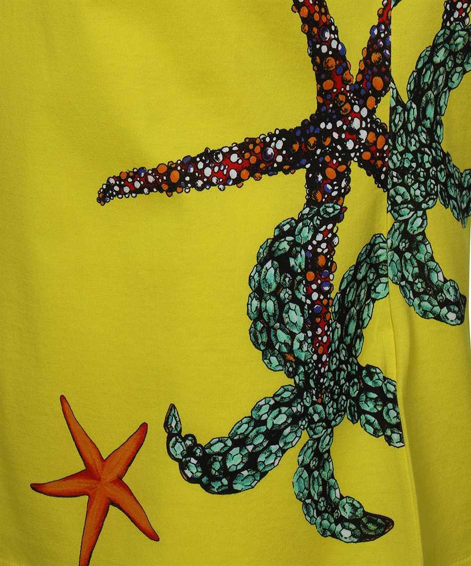 Versace A89357 1F01179 TRÉSOR DE LA MER PRINT T-shirt 3