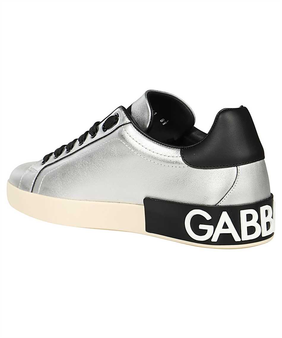 Dolce & Gabbana CS1772 AW151 METALLIC CALFSKIN NAPPA PORTOFINO Sneakers 3