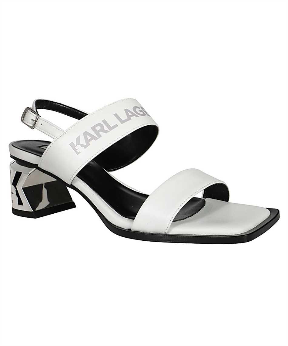 Karl Lagerfeld KL30610 K-BLOK 2-STRAP Sandals 2