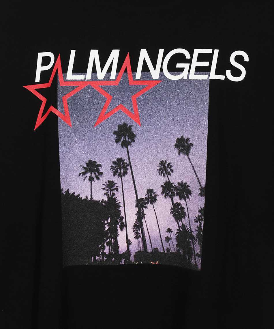 Palm Angels PMAA041F21JER002 STARS AND PALMS LOOSE T-shirt 3