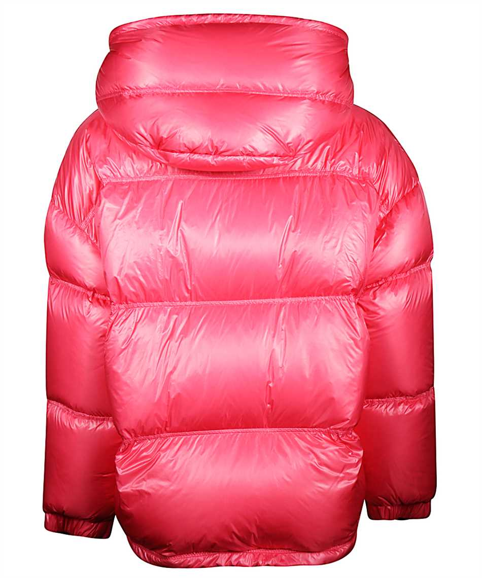 Moncler Steppjacke Mit Logo Damen 522 Pink Kleidung