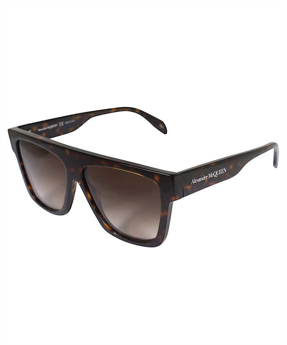 Alexander McQueen 649836 J0740 SELVEDGE FLAT TOP Occhiali da sole 2